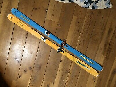 Dynafit Speed Ski + Pin Bindings + 2 Skins