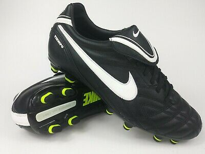 fe1682be29b Nike Mens Rare Tiempo Mystic III FG 366180-017 Black Soccer Cleats US Size 8