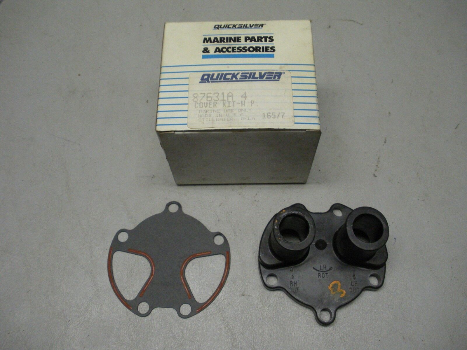 New Manifold sierra 18-19981 Replaces Barr# FM-1-83 Application Port & Starboard