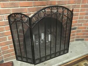 Fireplace screen - great condition