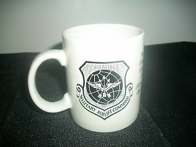 USAF Military Airlift Command PERSONALIZED W/NAMES Coffee Mugs RAMSTEIN AB 1990
