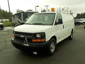2004 Chevrolet Express 3500 Cargo Van with Rear Shelving