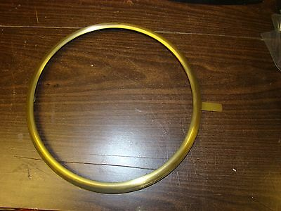 Vintage Seth Thomas Type Brass Bezel Ring for Wall Clock  New Old Stock