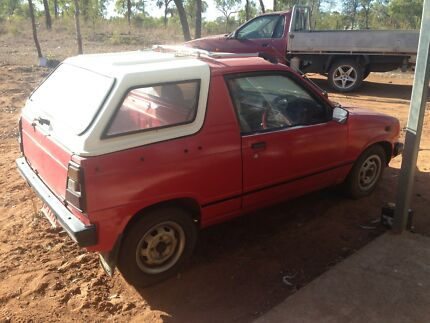 1988 Suzuki Mighty Boy Ute Broughton Charters Towers Area Preview