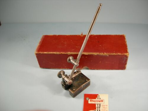 """Starrett No.257A Universal Surface Gage 9"""" Spindle Toolmaker Machinist"""
