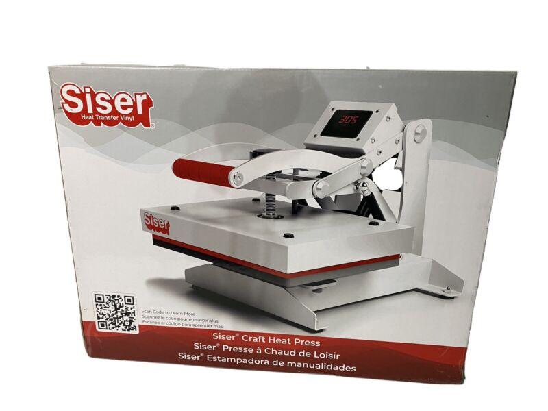"SISER DIGITAL CLAM Heat Press 9""X12"" Free Shipping"