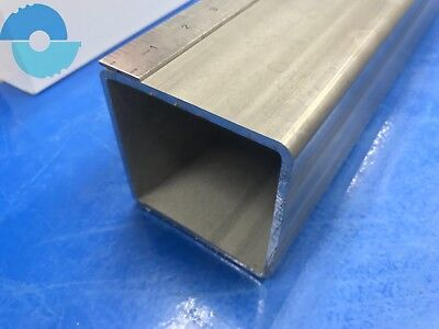 Stainless Steel Square Tube Tubing 304. 4 X 4 X 316 X 12 Long