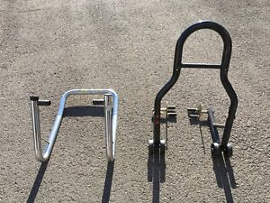 Motorcylce front and rear stand