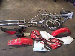 HONDA CR125 2001 WRECKING PARTS St Agnes Tea Tree Gully Area Preview