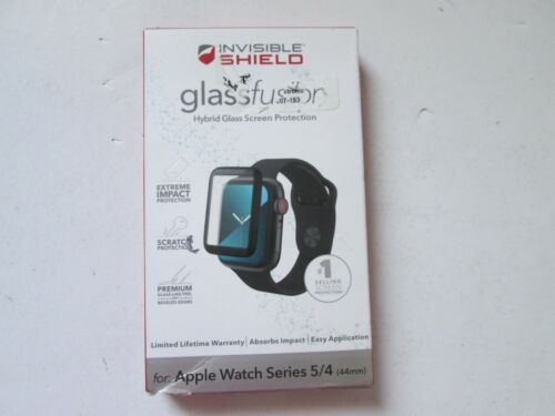 Zagg Invisible Shield glass fusion screen protector for Apple Watch series 5/4