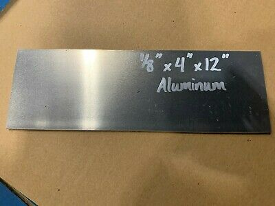 Aluminum Plate Bar 18 X 4 X 12  Project Stock