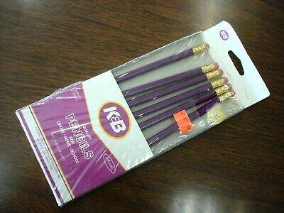 K&B Drug Store Pencil Pack of 6 No2 Lead Unused Eraser BRAND NEW K & B drugstore