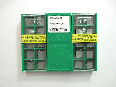 SPGN 120416T  T01 WG 300 Greenleaf Insert **10PCS**