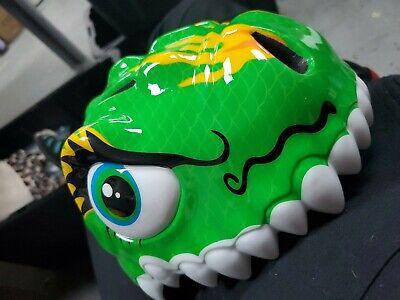 Green Chinese Dragon Bike/Skateboarding Helmet Youth