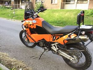 KTM 950 Adventure well equipped