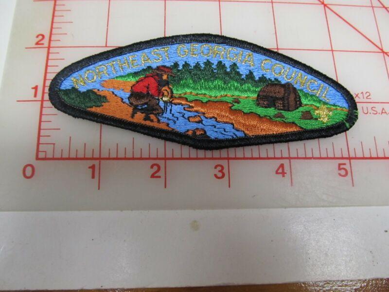 Northeast Georgia Council CSP collectible PB patch (o34)