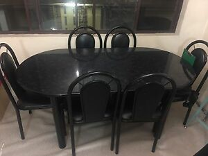 Dining Table with 6 chairs Westmead Parramatta Area Preview