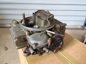 Holley carburetor 600 cfm electric choke Ryde Ryde Area Preview