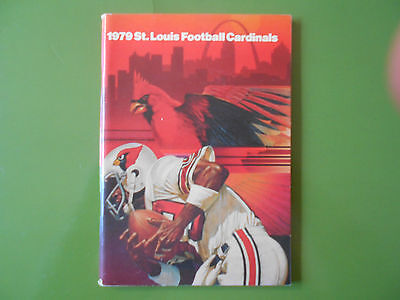 1979 ST. LOUIS CARDINALS MEDIA GUIDE Yearbook Press Book Football Program AD