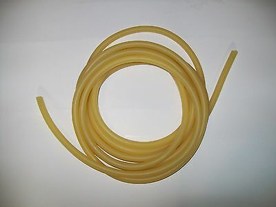 12 Continuous Feet 516 Id X 116 W X 716 Od Natural Latex Rubber Tubing Amber