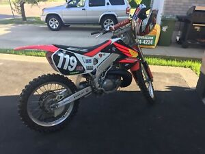 1998 CR 250 with Ownership