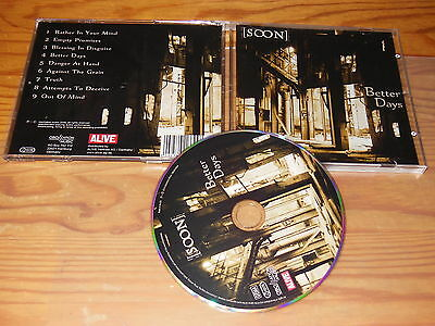 SOON - BETTER DAYS / ALBUM-CD 2016 MINT-