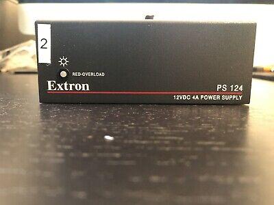 Extron Ps124 Multiple Output 12 Volt Dc Power Supply 4 Amp