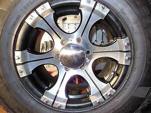 """16X8  """" GECKO"""" BRAND ALLOY RIM TO BUY West Ulverstone Central Coast Preview"""