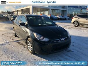 2012 Hyundai Accent GL PST Paid - Accident Free - bluetooth