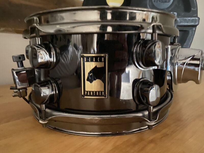 Mapex Black Panther Snare Drum 10x5.5 Steel Black Chrome