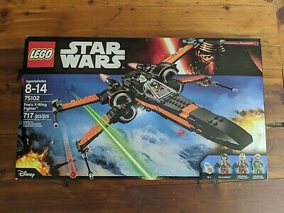 LEGO Star Wars Poe's X-Wing Fighter 75102 Sealed NIB
