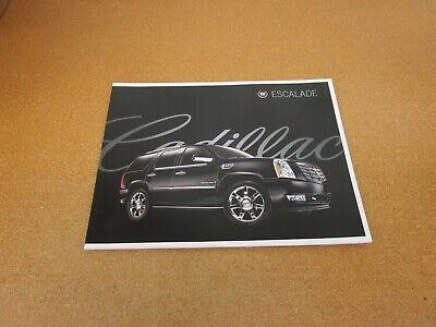 2008 Cadillac Escalade EXT ESV sales brochure dealer literature 50 page