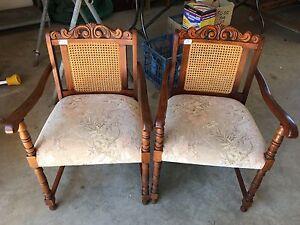 Antique Bridge Chairs Dubbo Dubbo Area Preview