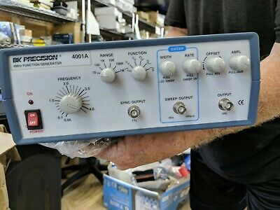 Bk Precision 4001a 4 Mhz Sweepfunction Generator