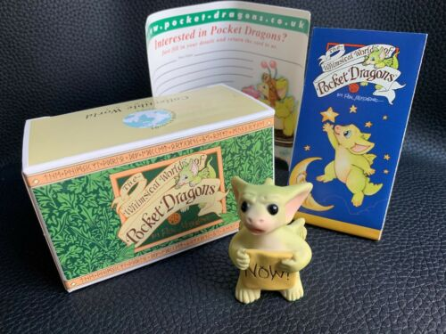 """The Whimsical World of POCKET DRAGONS """"I WANT IT!"""" Mint Condition"""