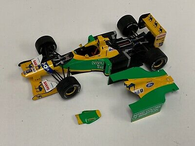 1/18 Minichamps Benetton Ford  B192 Camel Engine detail Schumacher first win