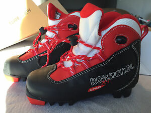 Rossignol X1 Junior Cross Country Ski Boots, Size 1