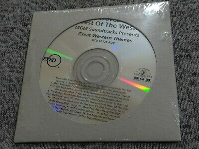 Best of The West MGM Soundtracks: Great Western Themes ADVANCE PROMO CD