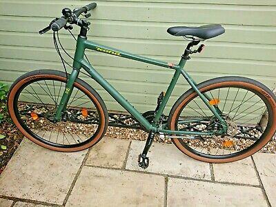 Kona Dew Bike - Size Large - Frame 55 cm - Green - Selle Saddle - Large Tyres