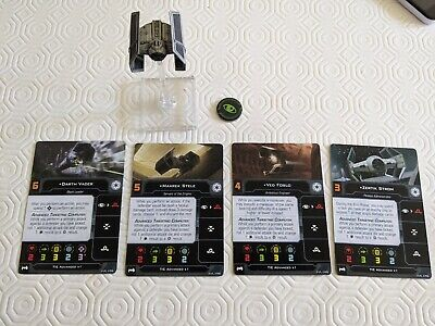 Star Wars X-wing Miniatures 2.0 Tie Advanced X1 Sold As Seen