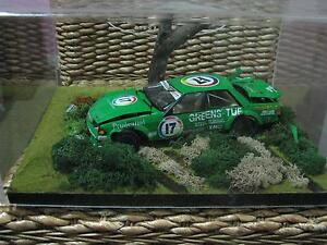 Dick Johnson Signed diorama of bathurst crash. 1of1. Burpengary Caboolture Area Preview