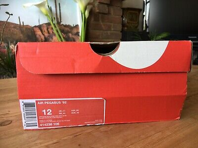 Nike Air Pegasus '92 UK11 US12 BNIB 2013