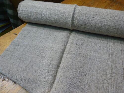 A Homespun Linen Hemp/Flax Yardage 10 Yards x 24