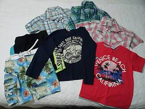 Size 5 & 6 Boys Clothing incl Pumpkin Patch Bethania Logan Area Preview