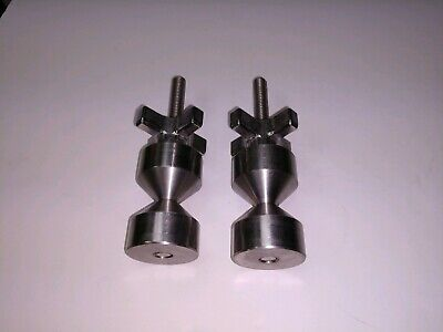 Davis 1 12-two Hole Pin-stainless- 38-16 Steel Quick Knobs