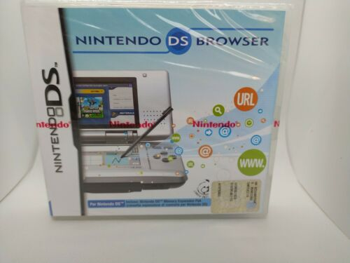 Nintendo DS Browser sealed
