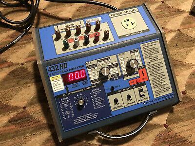 Dni Dynatech Nevada Model 432hd Safety Ecg Analyzer