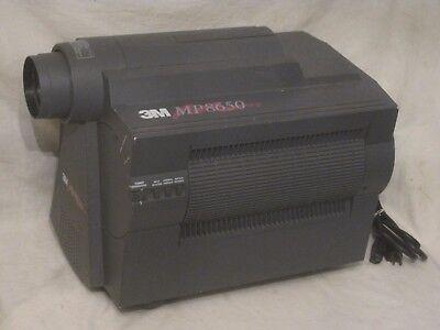 3M MP8650 LCD Projector MP 8650A multimedia svga conference w/ cord lamp - 3m Lcd Projector Lamp