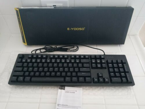 E-YOOSO K610 N-Keys Rollover,suitable With More Kind Of Game Mechanical Switchs  - $50.00