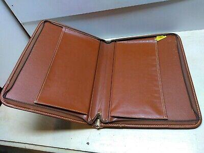 Reuben Co. Genuine Tolex Converto Binder Attache Document Case Portfolio Zip